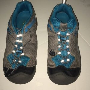 Women's keen 6 shoes Gray and teal